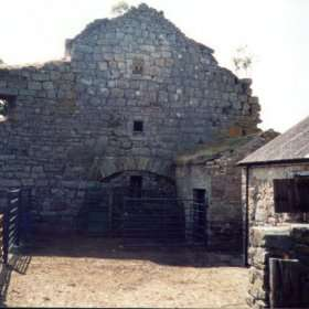 Scargill Castle before restoration