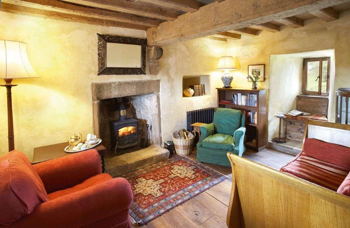 Scargill Castle living room