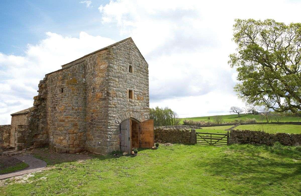 Scargill Castle Entrance