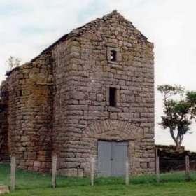 Scargill Castle pre-restoration