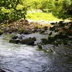 River near Scargill Castle